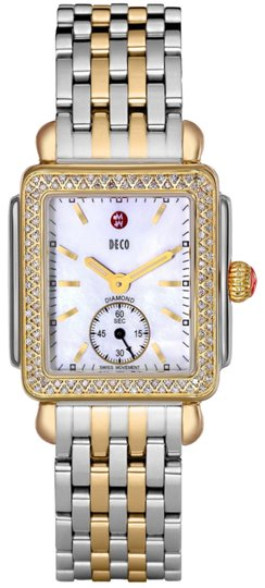 Preload https://img-static.tradesy.com/item/23632596/michele-two-tone-gold-new-deco-mid-16-diamond-dial-mww06v000023-watch-0-1-540-540.jpg
