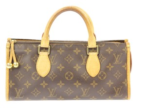 Louis Vuitton Monogram Top Handle Satchel in Brown