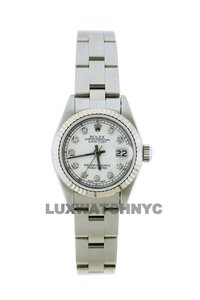 Rolex 26mm Ladies Datejust S/S with Box & Appraisal Watch