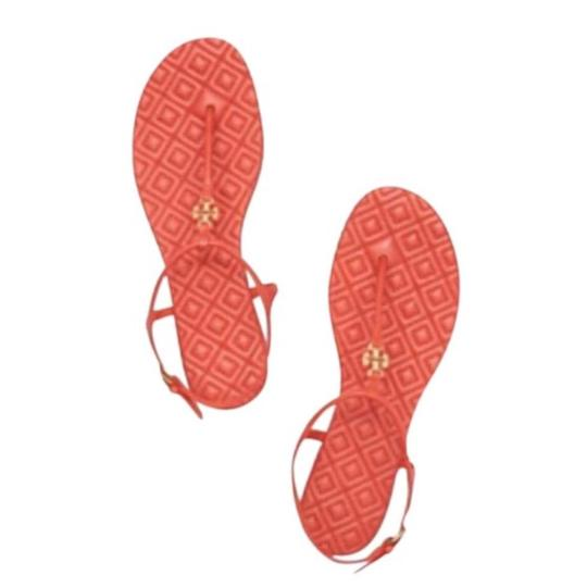 Preload https://img-static.tradesy.com/item/23632751/tory-burch-orange-t-marion-quilted-t-strap-flat-poppy-coral-leather-gold-logo-sandals-size-us-95-reg-0-0-540-540.jpg