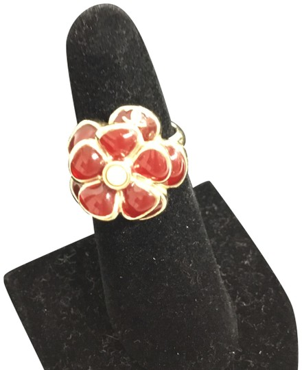 Preload https://img-static.tradesy.com/item/23632790/chanel-gold-red-grispoix-camellia-with-pearl-ring-0-3-540-540.jpg