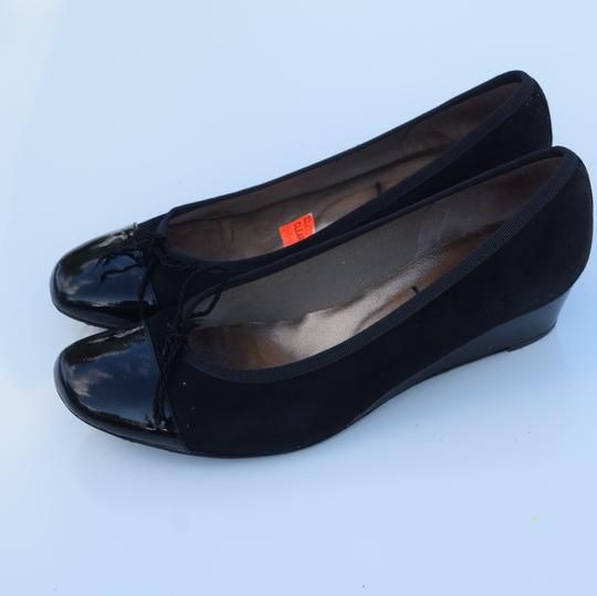 French Sole black Wedges