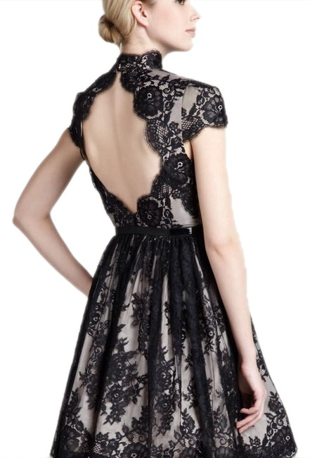 Preload https://item2.tradesy.com/images/alice-olivia-black-lace-jayna-mid-length-night-out-dress-size-2-xs-23632906-0-1.jpg?width=400&height=650