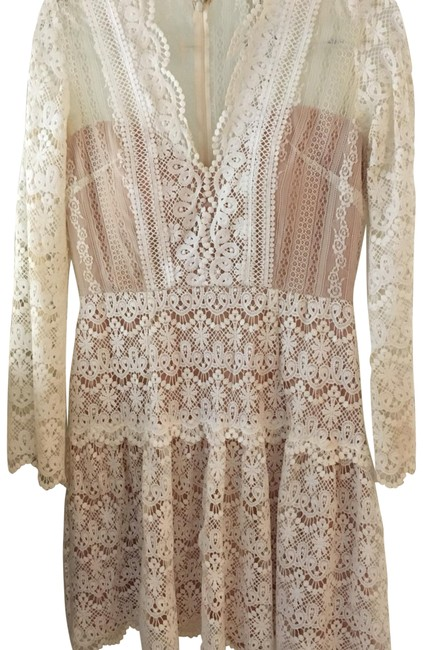 Preload https://item1.tradesy.com/images/off-white-camelot-lace-short-casual-dress-size-10-m-23632920-0-1.jpg?width=400&height=650