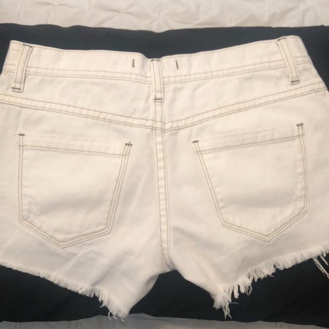 Free People Mini/Short Shorts White
