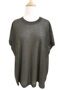 AllSaints Fine Knit Relaxed Fit Short Sleeve Sweater