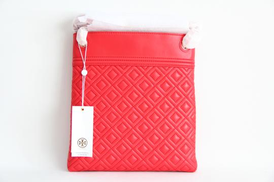 Tory Burch Fleming Quilted Leather Swingpack Cross Body Bag