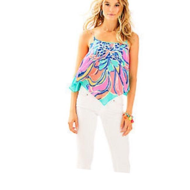 Lilly Pulitzer Top seaside aqua
