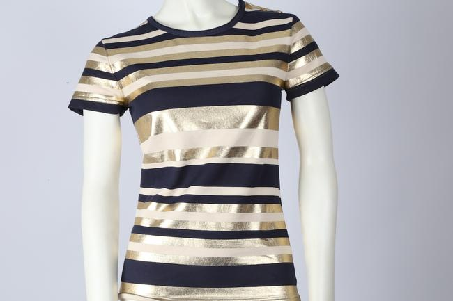 Chanel Tee Casual Top Multicolor