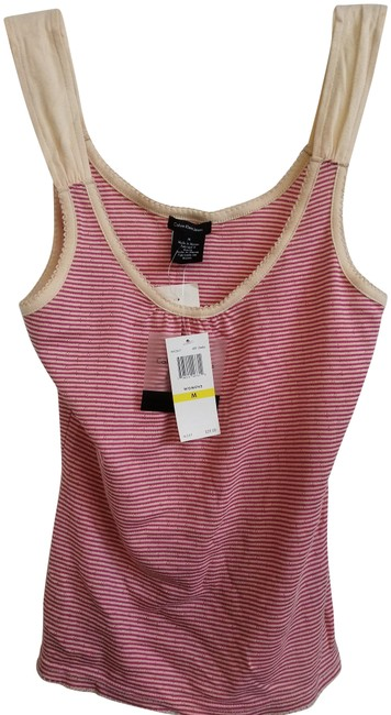 Preload https://img-static.tradesy.com/item/23633157/calvin-klein-nude-red-jeans-striped-ribbed-cotton-tank-topcami-size-10-m-0-1-650-650.jpg