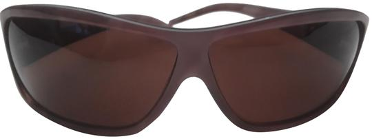 Preload https://item1.tradesy.com/images/roberto-cavalli-brown-frosted-quilted-sunglasses-23633160-0-1.jpg?width=440&height=440