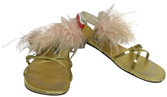 Preload https://item1.tradesy.com/images/prada-gold-flat-with-nude-feathers-sandals-size-eu-37-approx-us-7-regular-m-b-23633170-0-2.jpg?width=440&height=440