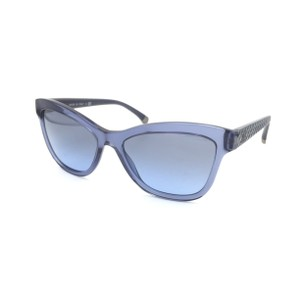 d0b75a11a8 Chanel Blue Cat Eye Butterfly Quilted 5330 Sunglasses