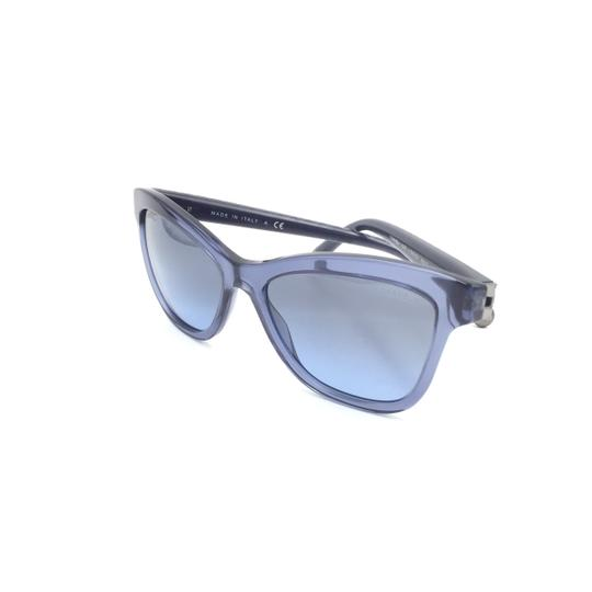 Chanel Blue Cat Eye Butterfly Quilted 5330 Sunglasses