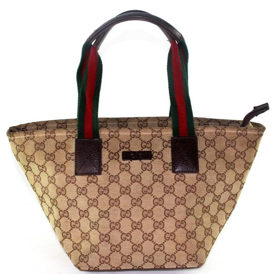 Preload https://item5.tradesy.com/images/gucci-webby-web-design-6260-brown-canvas-tote-23633209-0-1.jpg?width=440&height=440