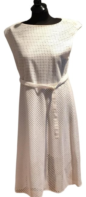 Preload https://item1.tradesy.com/images/theory-white-summer-mid-length-short-casual-dress-size-12-l-23633210-0-1.jpg?width=400&height=650