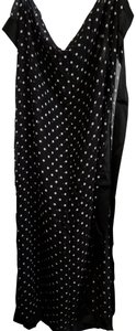 Other Very large sheer polka dot wrap or scarf