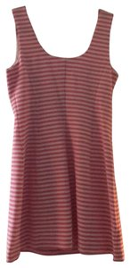 Lilly Pulitzer short dress pink and white stripe on Tradesy