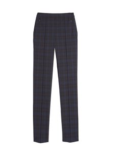Carlisle Tapered Plaid Classic Casual Straight Pants Ocean Wave