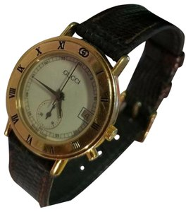 f13eb897f3f Gucci Brown Vintage Code 3800l Watch - Tradesy