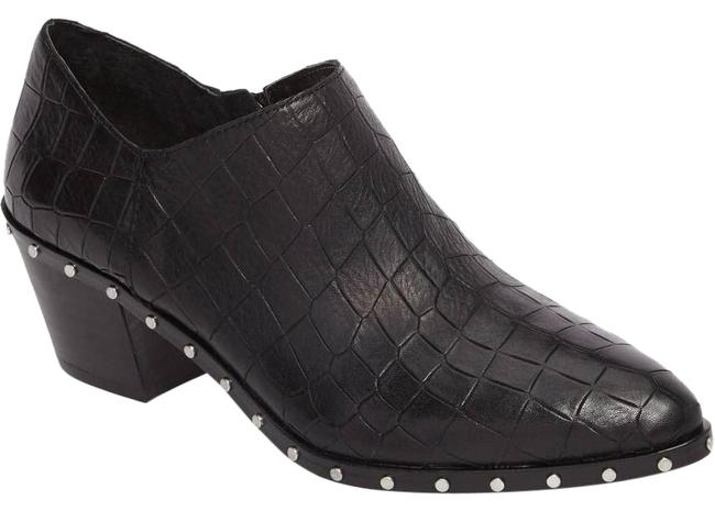 Item - Black New Lizba Croc Print Ankle Boots/Booties Size US 9.5 Regular (M, B)
