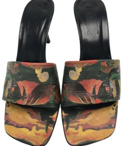 Icon Wearable Art Open Toe Multi Sandals