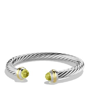 David Yurman 7mm lemon citrine cable classics bracelet