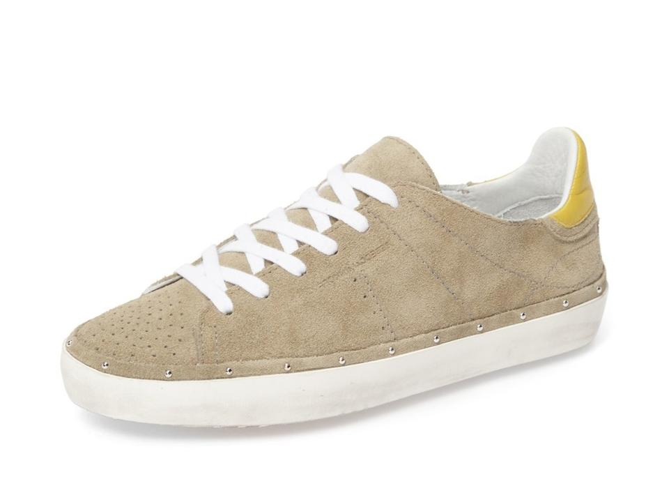 Rebecca Minkoff Taupe Michell Studded Distressed Sole Studded Michell Sneakers ae2811