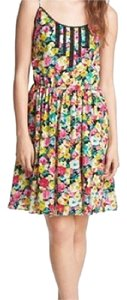 Betsey Johnson Floral Lace Embroidered Sundress Dress