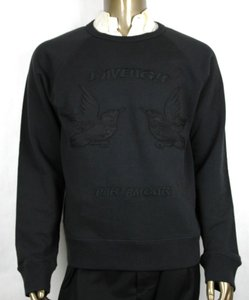 Gucci Black Jersey L Men Felted Cotton Knit Embroidery Details 408242 1285 Groomsman Gift