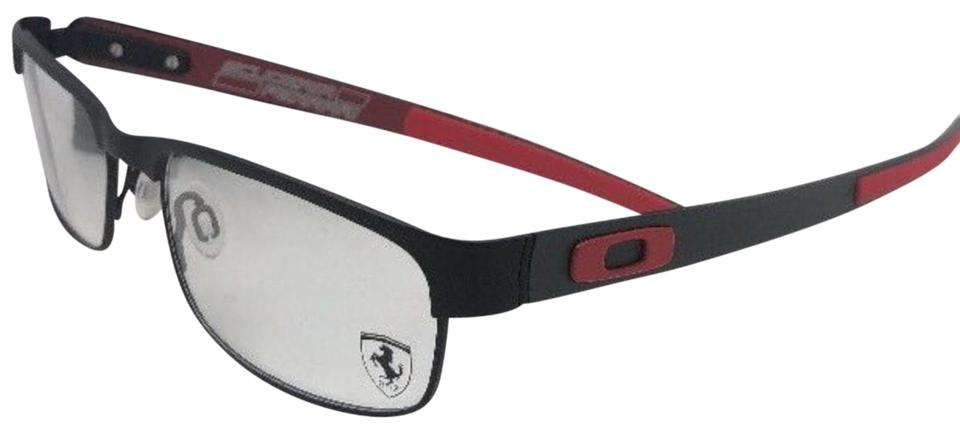 e5ca09427e Oakley New Ferrari OAKLEY Eyeglasses CARBON PLATE OX5079-0455 Black Red w   Ca Image ...