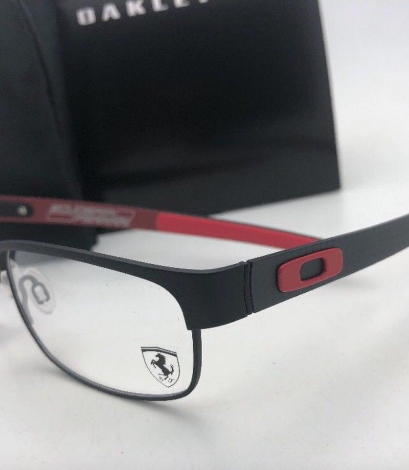 91afe13479 Oakley New Ferrari Carbon Plate Ox5079-0455 Black Red W  Carbon Fiber W  Ca  Sunglasses - Tradesy