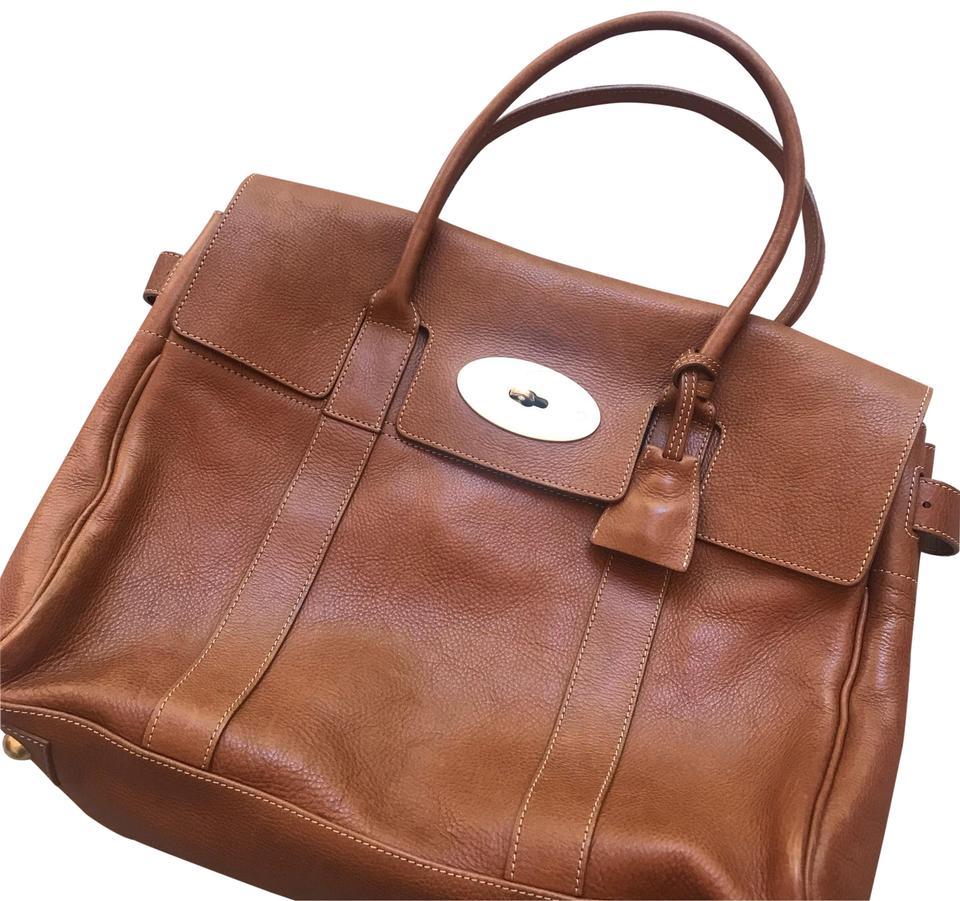 3e65f0dc19e9 Mulberry Heritage Bayswater Oak Natural Leather Cross Body Bag - Tradesy