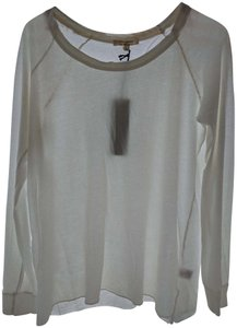 Nili Lotan T Longsleeve T-shirt Cotton New T Shirt white