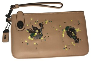 Coach Wristlet in Nude Pink