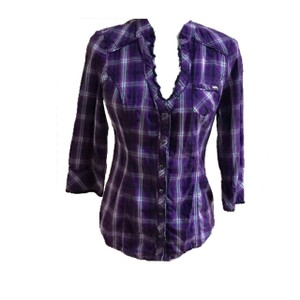 Guess By Marciano Button Down Shirt purple