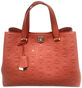 MCM Tote in blush pink