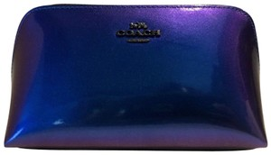 Coach Nasa Patent Leather HOLOGRAM COSMETIC 17 F29412