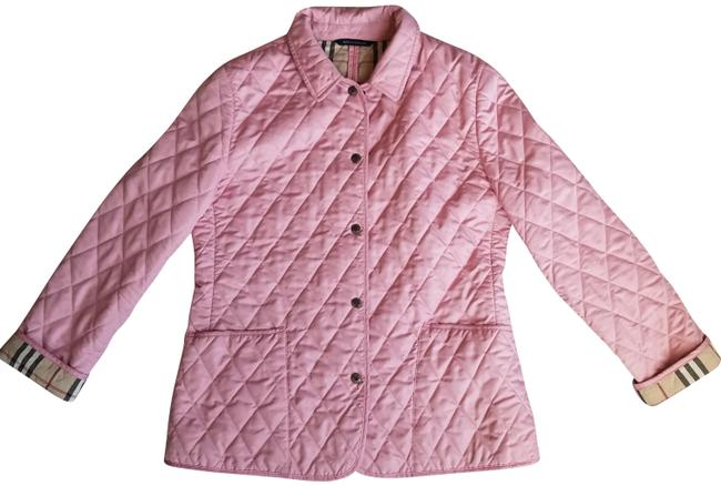 Item - Pink Quilted Lightweight Jacket Size 8 (M)