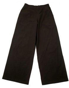 Lilith Shimmer Wide Leg Pants Brown