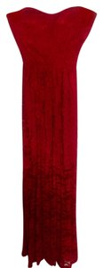 Red Maxi Dress by