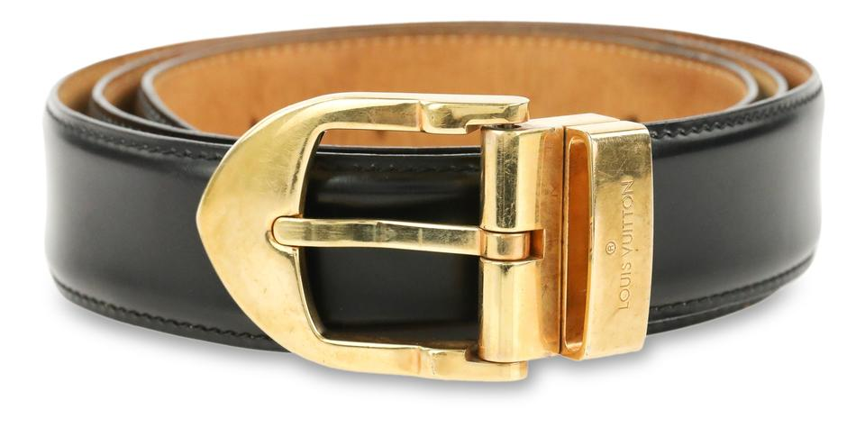 Louis Vuitton Black Ceinture Classic Belt - Tradesy 7f331993df1
