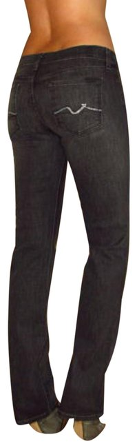 Item - Black/Grey Dark Rinse Cut #104049 Straight Leg Jeans Size 29 (6, M)