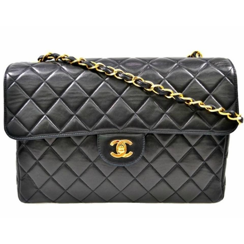 Chanel Classic Flap Quilted Black Cross Body Bag - Tradesy 0452e3c5aa328