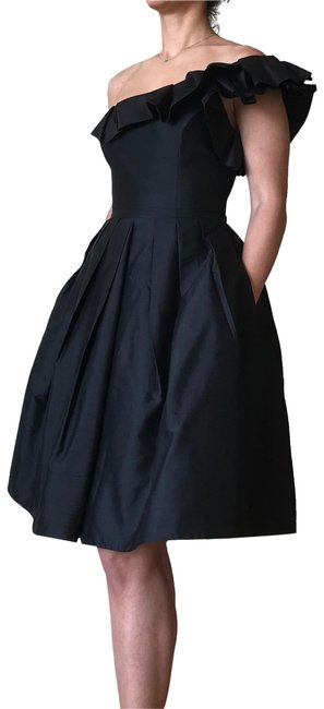 Item - Black By Mid-length Cocktail Dress Size 2 (XS)