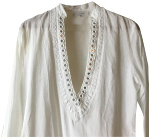 OndadeMar ondademar white tunic top/ cover up
