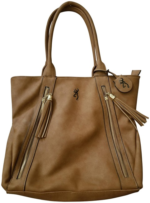 Item - Made In China Brown Polyester Shoulder Bag