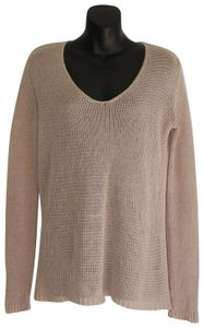 f1d4fc1267 Theory Sheer Cold Knit Linen Beige Sweater.  40.00. US 2 (XS). MICHAEL  Michael Kors Top black ...