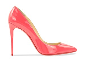 Christian Louboutin Pigalle Stiletto Follies Classic Patent Pink Pumps