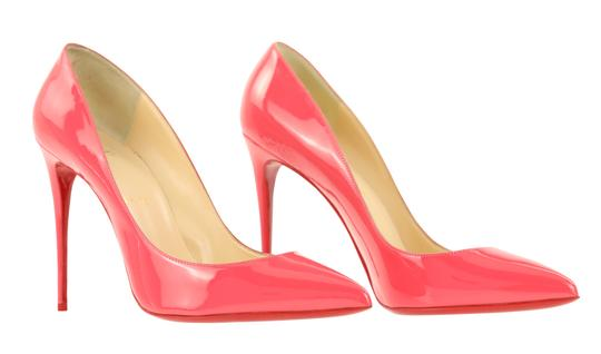 Christian Louboutin Pigalle Stiletto Follies Classic Patent Pink Pumps Image 1